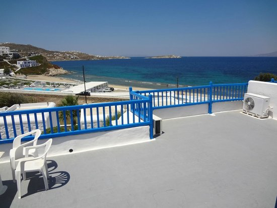 Hotel Mykonos Beach: Varanda