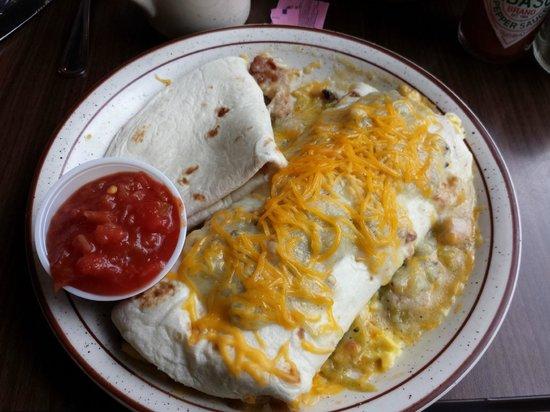Karen's Cafe: Best breakfast burrito ever!