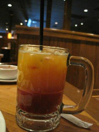 Outback Steakhouse: Laranja com morango