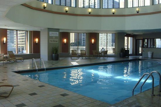 Indoor pool - Picture of Sheraton Grand Chicago, Chicago - TripAdvisor