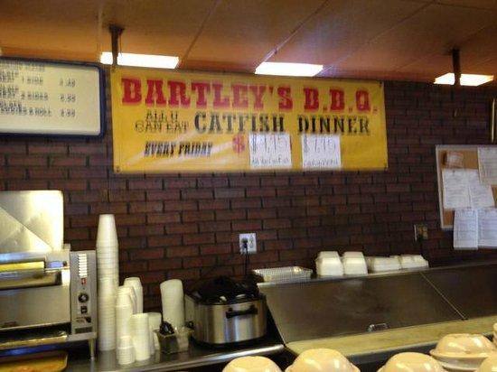 Bartleys BBQ: Great specials