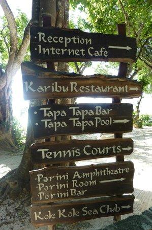 Baobab Beach Resort & Spa : directions