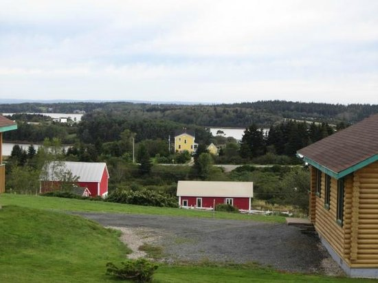 Lunenburg Oceanview Chalets: The view