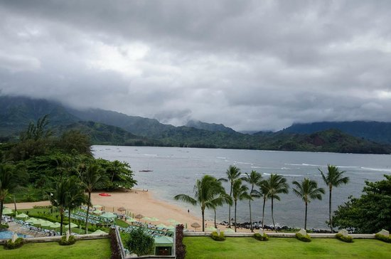 St. Regis Princeville Resort: Beautiful even on a cloudy day