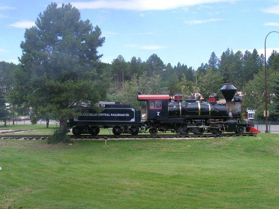 1880 Train/ Black Hills Central Railroad: display engine