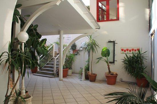 Hotel Soleluna: The entrance
