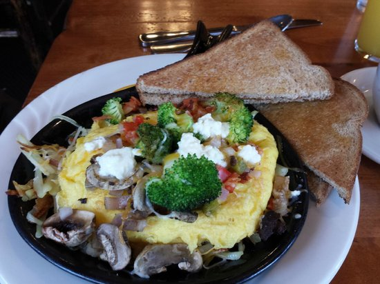 Trapper Grill: Awesome breakfast