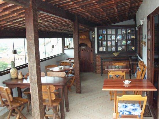 Pousada Mar Dos Anjos: Café da manhã