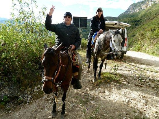 Revash Mausoleo de los Chachapoyas: Riding the Horses