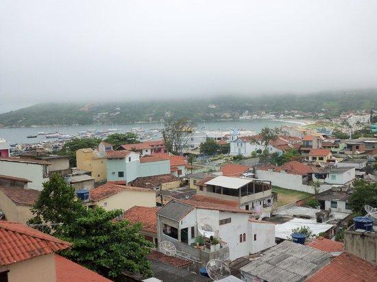Pousada Mar Dos Anjos: Vista do 2° andar