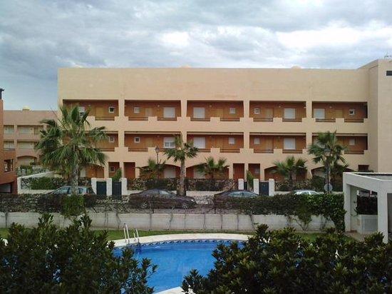 Apartamentos Paraiso Playa: vista apto. vera playa