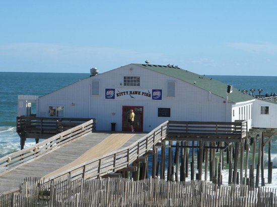 Superior Hilton Garden Inn Outer Banks/Kitty Hawk: Kitty Hawk Pier Awesome Design