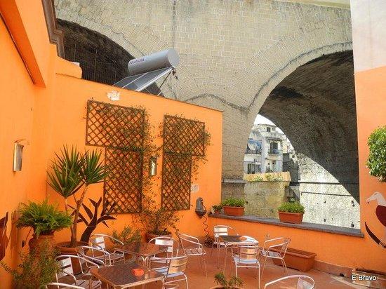 Casa del Monacone: Patio upstair