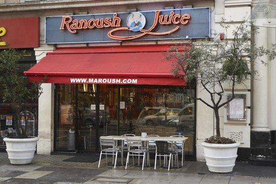 Great Halal Middle Eastern Food Ranoush Juice Marble Arch London Traveller Reviews Tripadvisor