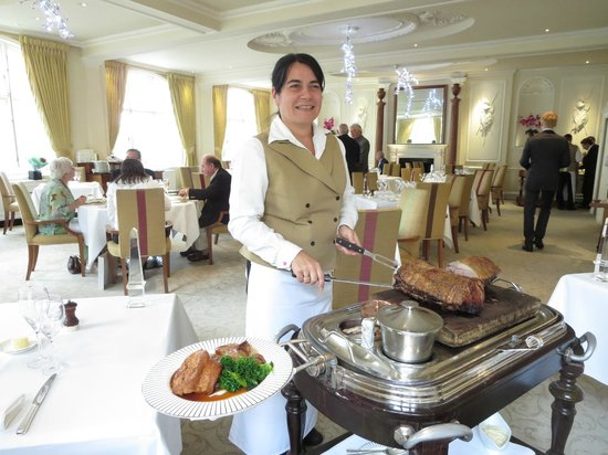 Roast Beef From The Trolley Picture Of The Goring Dining Room