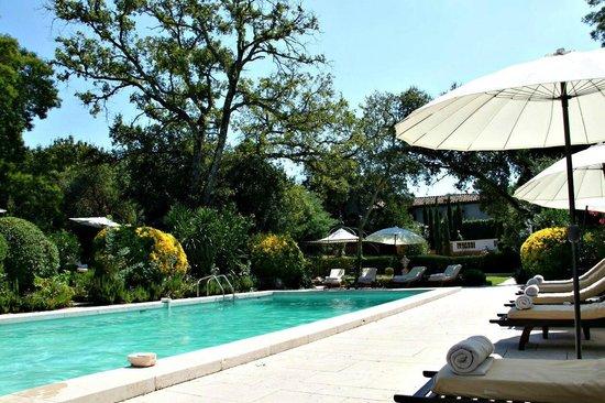 Le Mas de Chastelas : Pool area