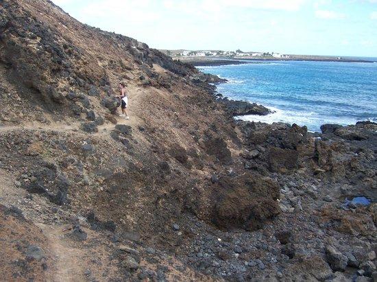 Islas Graciosa : Camino a Pedro Barba