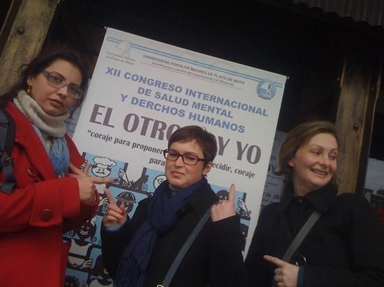 Hotel Avenida: congresso de Saúde Mental e Direitos Humanos / Residentes da ESP/RS marcando presença.