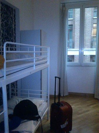 La Controra Hostel Rome : habitacion