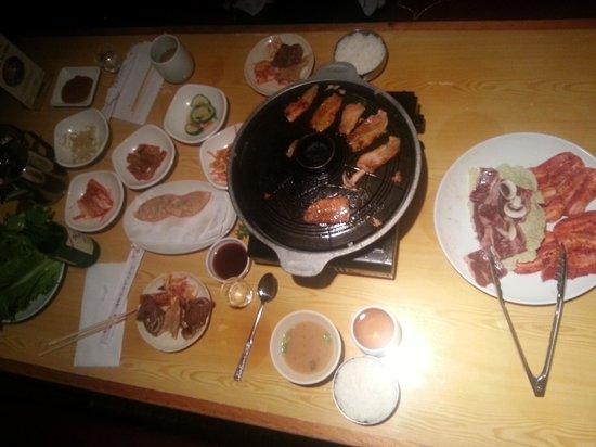 Korean Village Han Kuk Kwan: Trés bon restaurant . Bon acceuil . A ne pas raté si vous êtes de passage dans cette ville