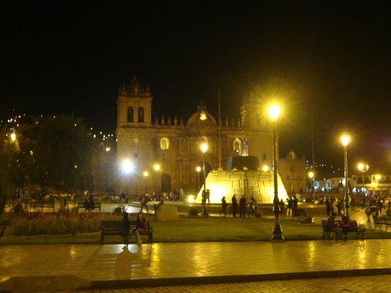 Centro Historico De Cusco: Cusco à noite