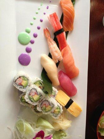 Ichiban Asian Fusion: Sushi beautifully presented