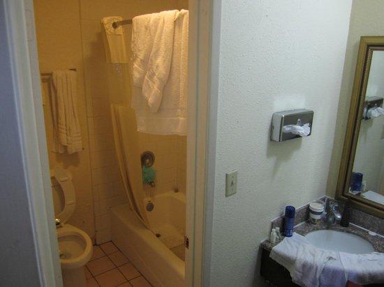 Days Inn Torrance Redondo Beach: Banheiro