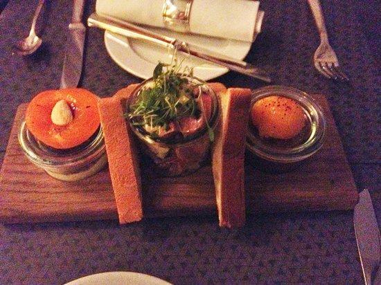 Hotel Stern Luzern: Very yummy starter