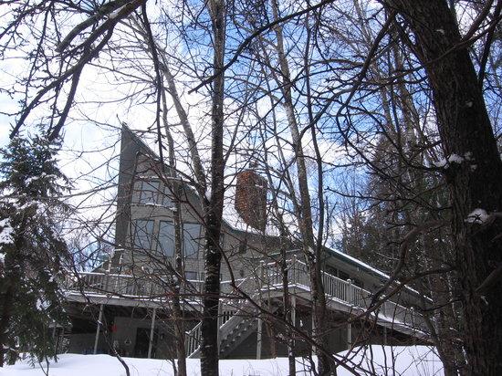 Artesian House Bed & Breakfast in Winter