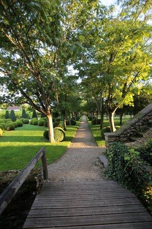 Le Vieux Logis : jardim