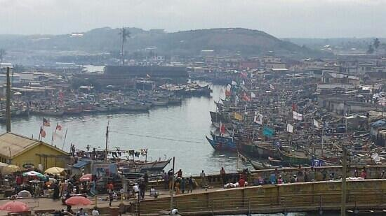 Ghana: costa de marfil