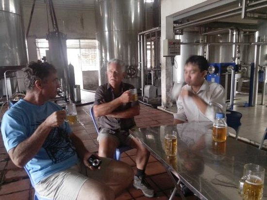 HCM Cooking Class: Great Local Beer in Local Beer Factory