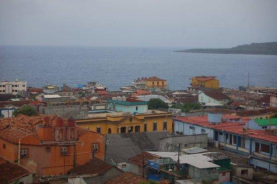 Casa del Chocolate: Baracoa dall'alto (Hotel Castillo)