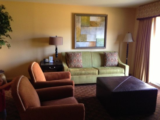 The Colonies at Williamsburg Resort: Living room