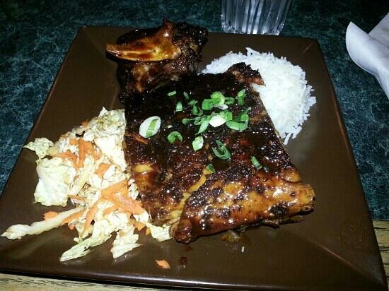 Cafe ProFusion : Yummy baby back ribs!