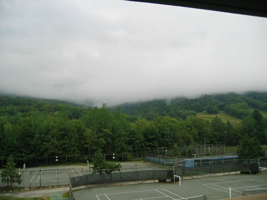 Village Of Loon Mountain: Clouds on Loon Mountain