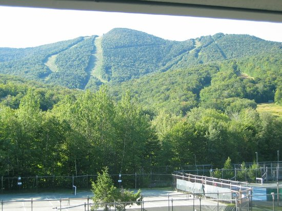 The Village Of Loon Mountain: Loon Mountain above the trees