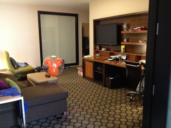 Hyatt Regency Orange County : 2 bedroom king suite