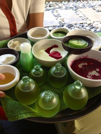 The Breezes Bali Resort & Spa: Ingredient used in the treatment