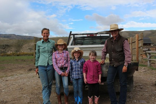 Goosewing Ranch : Girls with Julian and Clancy
