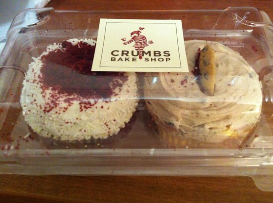 Crumbs: Red Velvet e Cookie Dough