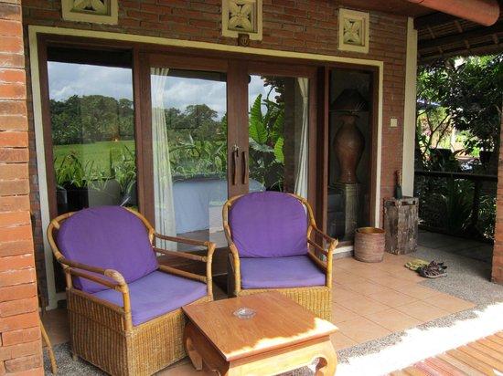 Tegal Sari : Terrace at Room #17