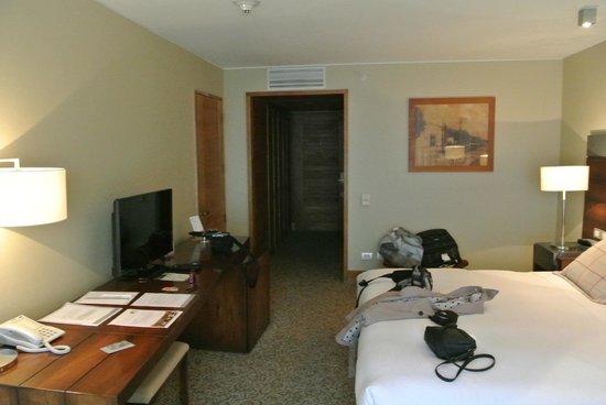 Radisson Hotel Puerto Varas: la habitacion