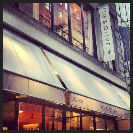 Fig & Olive : Entrance on 52nd street