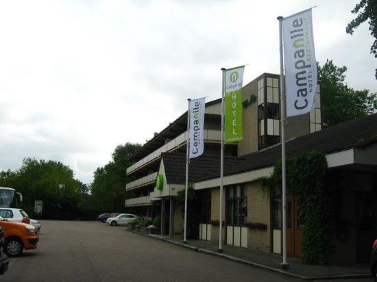 Fachada Hotel Campanile Amsterdam