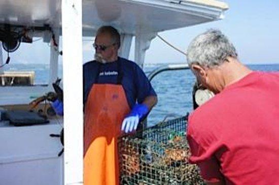 Captain Jack Lobster Boat Adventure : unfriendly captain