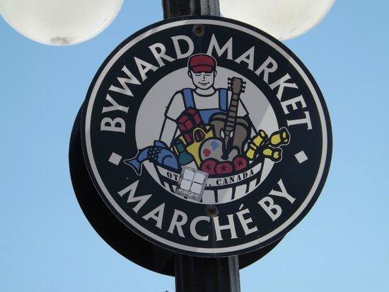 ByWard Market: neighbourhood signs