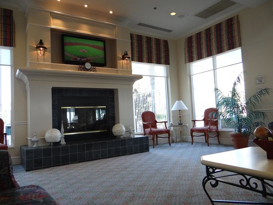 Hilton Garden Inn Irvine East / Lake Forest : Lobby Area