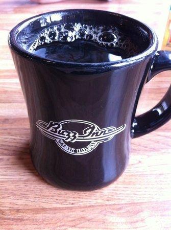 Buzz Inn Steakhouse: Coffee in a mug