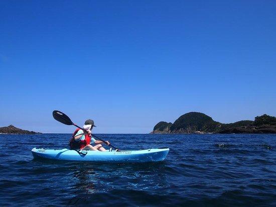 Takeno Coast : のんびり優雅にパドリング~ホームページより